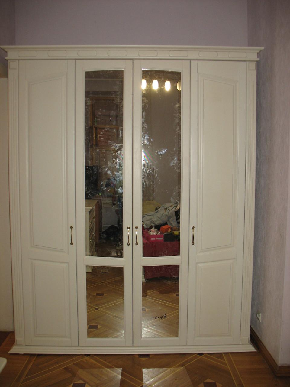 Шкаф деревянный Ладья