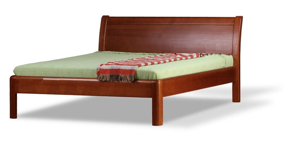 Дерев'яне ліжко Арізона