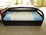Деревянная кровать Бавария с ящиками, фото 4