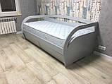 Деревянная кровать Бавария с ящиками, фото 5