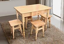 Комплект обеденный Смарт 2 ( стол + 4 табуретки )