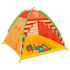 Детская палатка Bestway 68080 + 40 разноцветных шариков
