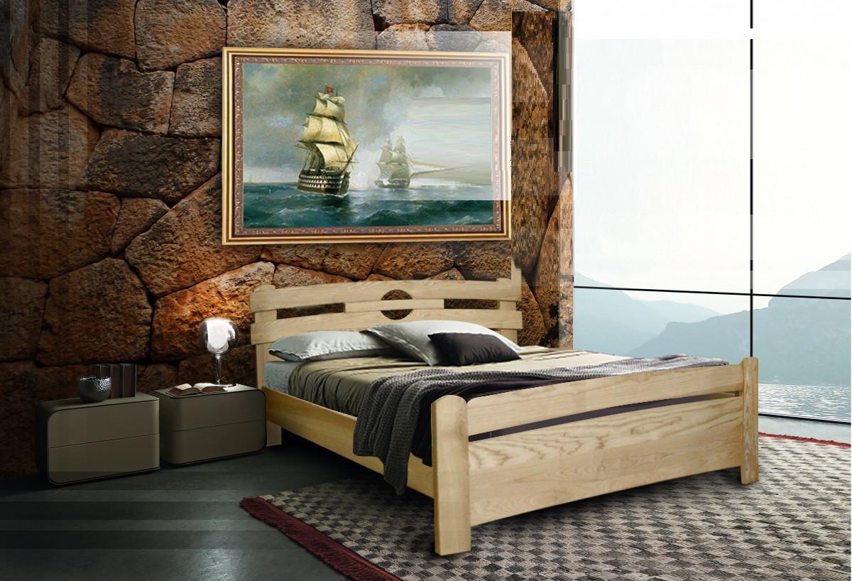 Деревянная кровать Катрин плюс