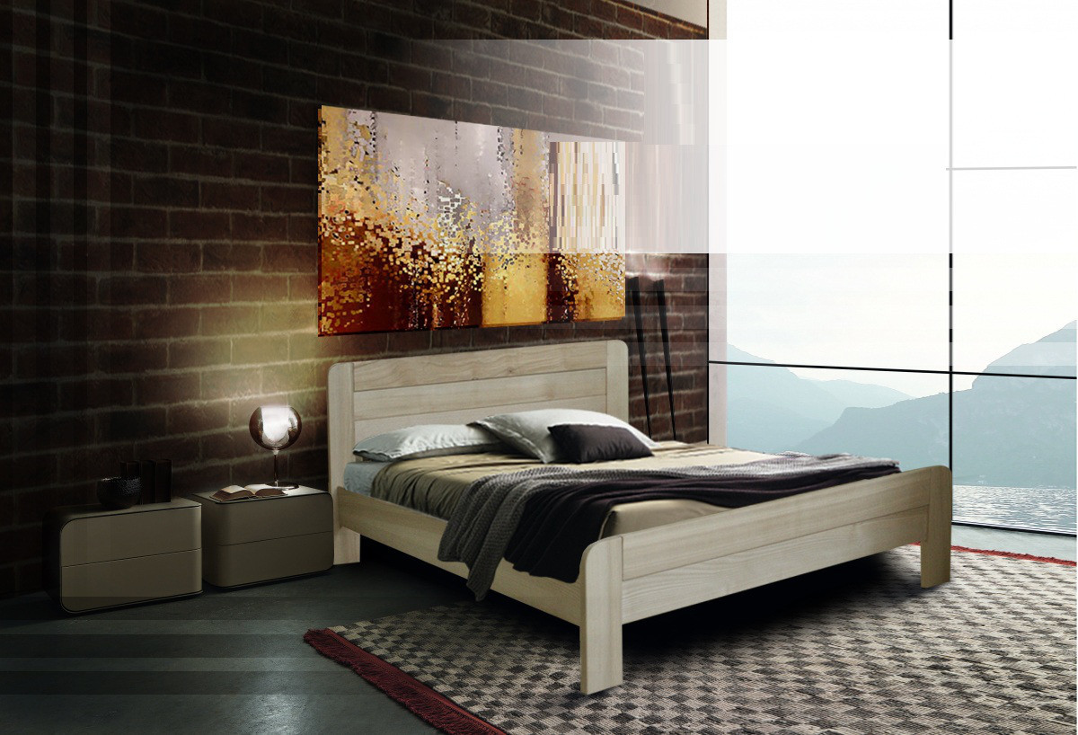 Деревянная кровать Марокко