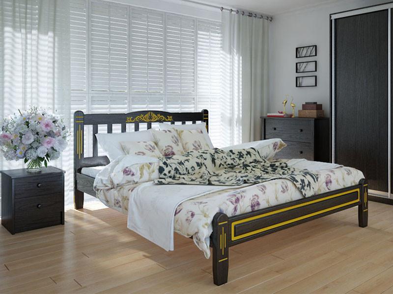 Деревянная кровать Вилидж люкс