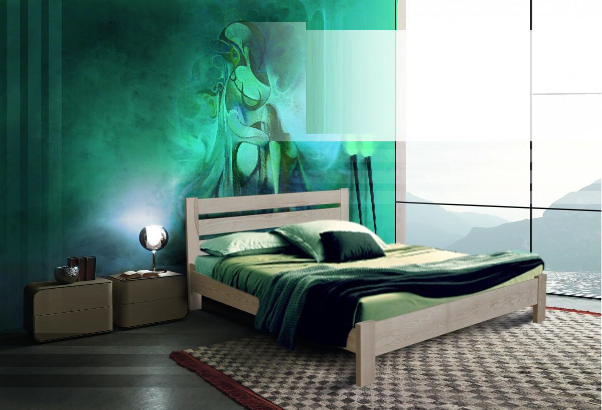 Деревянная кровать Эко плюс