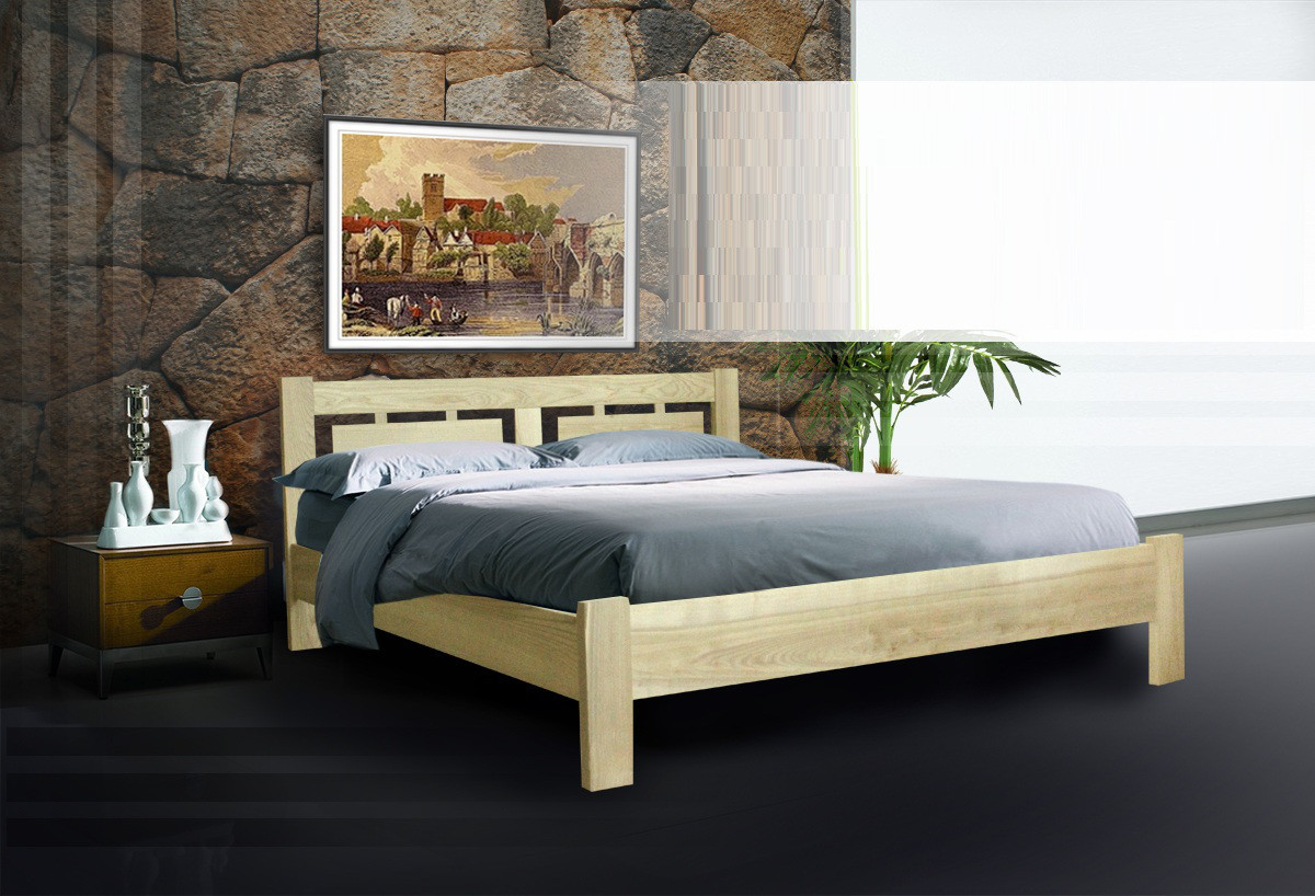 Деревянная кровать Пальмира