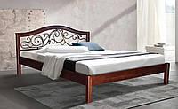 Деревянная кровать Italy