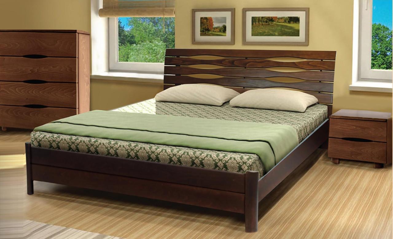 Деревянная кровать Марита