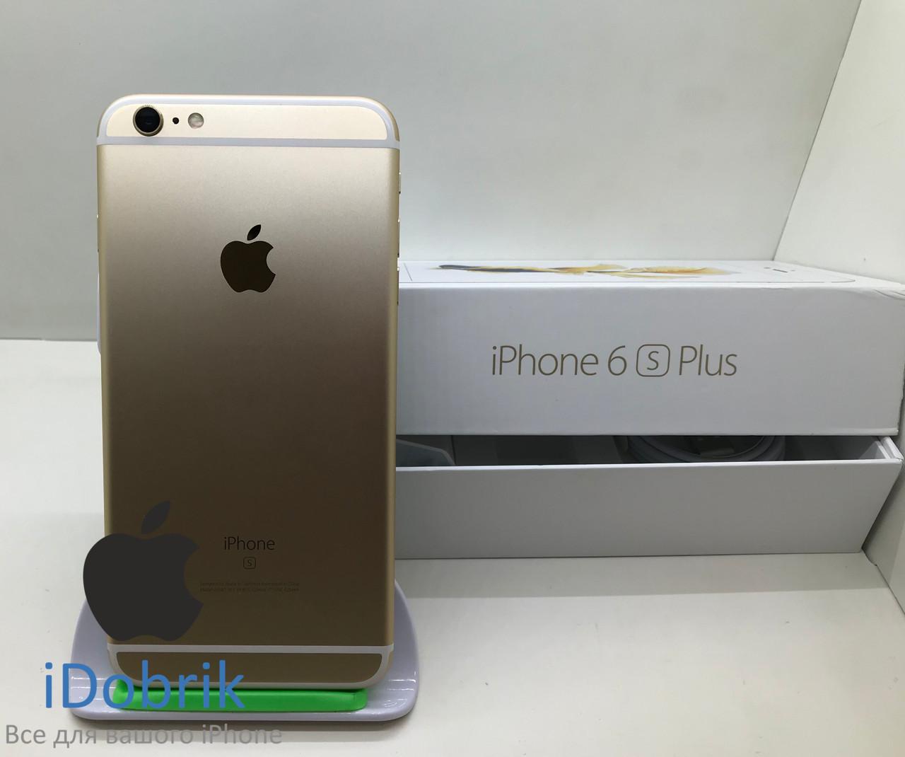 Телефон Apple iPhone 6s Plus 16gb Gold Neverlock 9/10