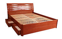 Деревянная кровать Марита макси 4 ящика, фото 1