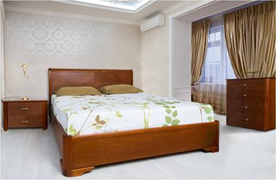Деревянная кровать Ассоль с подъемным механизмом