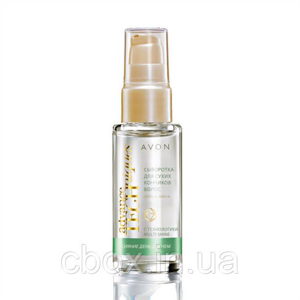 Сироватка для сухих кінчиків волосся Avon Advance Techniques Daily Shine, Dry Ends Serum, Ейвон, масло для волосся