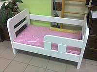 Кровать детская Глория белая 65х110 + Матрас Ultra Fresh Comfort