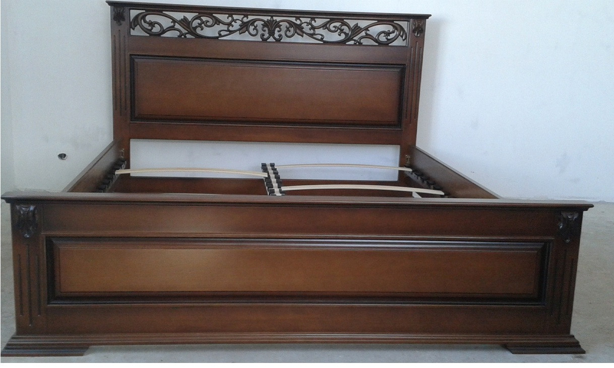 Деревянная кровать Ларго (дуб)