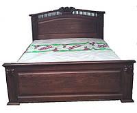 Деревянная кровать Корона (дуб)