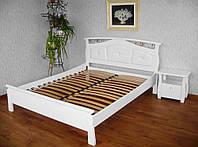 Деревянная кровать Миледи белая