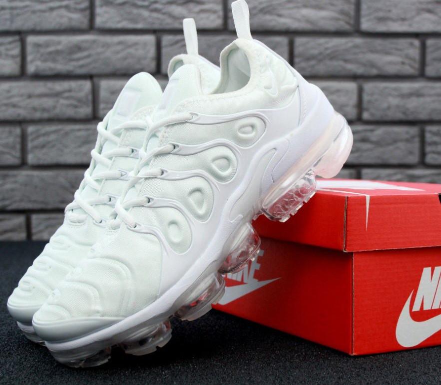 Кроссовки Nike Vapor Max TN White. Топ качество! Живое фото (Реплика ААА+)