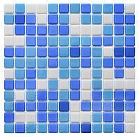 Микс из стеклянной мозаики   MX254010203