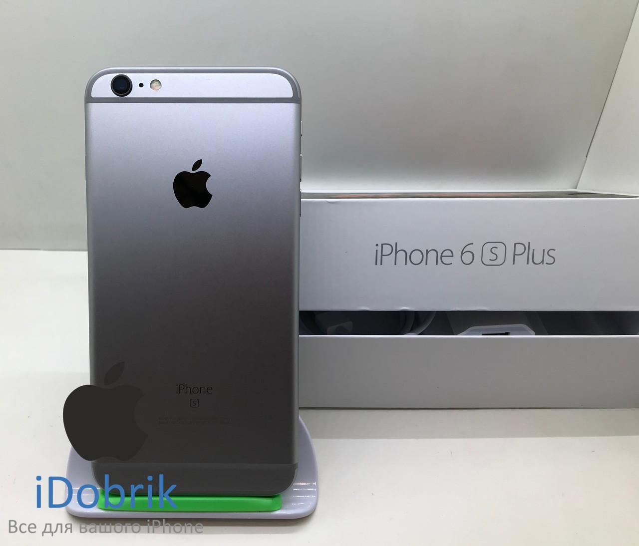 Б/У iPhone 6s Plus 32gb Space Gray Neverlock 10/10
