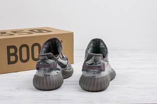 Мужские кроссовки Adidas Yeezy Boost 350 V2 реплика (1:1 к оригиналу), фото 2