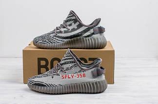 Мужские кроссовки Adidas Yeezy Boost 350 V2 реплика (1:1 к оригиналу), фото 3