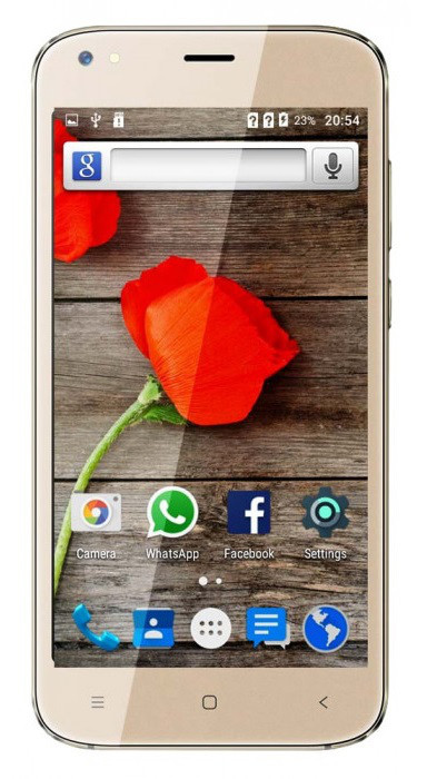 "Смартфон Assistant AS-5411 Max Ritm Gold 1/8Gb, 5/2Мп, 5"" IPS, 2000mAh, 2sim, 4 ядра, 3G, SC7731G, 12 мес."