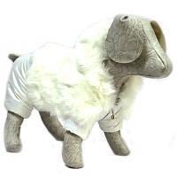 Комбинезон для собак Зайка белый