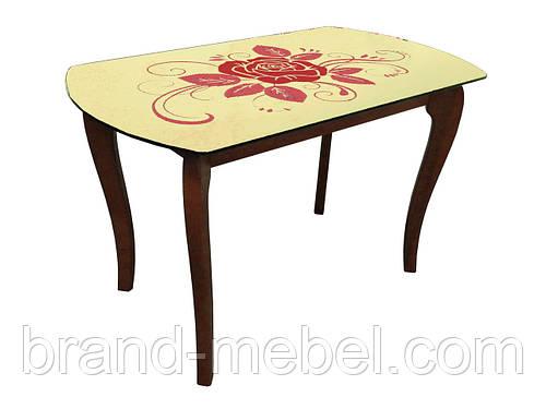 Стол стеклянный ДКС Класик 4 покраска