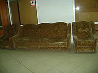 Набор диван + 2 кресла б/у