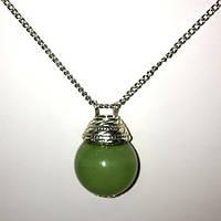 """Аромакулон з каменю """"Онікс"""" (зелений)"""