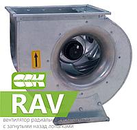 Вентиляторы радиальные компактные с назад загнутыми лопатками RAV-4-6