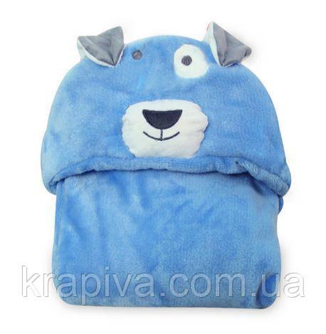 Плед полотенце детский с уголком, Плед рушник дитячий з куточком