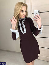 Черное платье с рюшами, фото 2