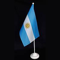 Флажок Аргентины на подставке
