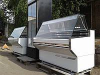 Холодильная витрина Cold 1,41 м. б/у, витрина гастрономическая б у, холодильный прилавок б у, фото 1