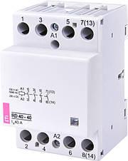 Модульні контактори RA, R, R-R, RD, RBS