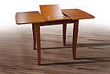 Стіл обідній Лінда ( розкладний ) 80+35см, фото 2