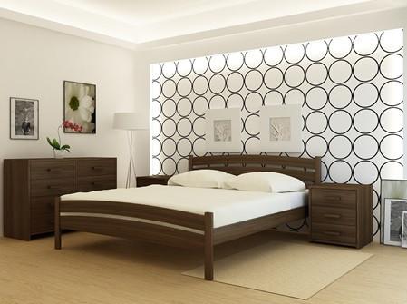 Дерев'яне ліжко Мадрид-2