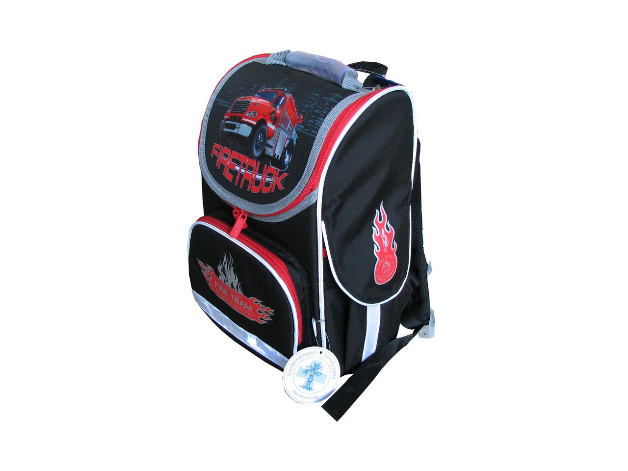 366e2ad8a0f2 Рюкзак школьный каркасный Kite Firetruck K18-501S-1: продажа, цена в ...