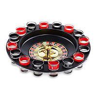 Пьяная рулетка, набор для игры в пьяную рулетку, алкорулетка с рюмками, алкоигра рулетка с рюмками