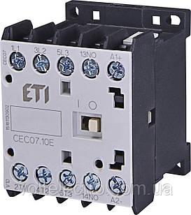 Контакторы силовые миниатюрные CEC07.10-24V-50/60HZ