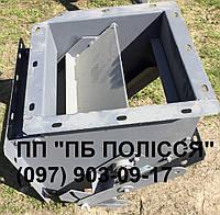 Клапан перекидной двухсторонний ручной маятниковый КДР 300х300