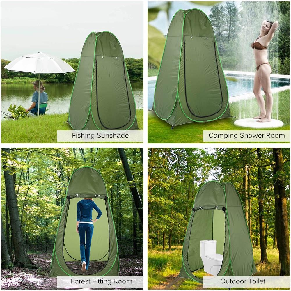 Палатка душ-туалет походный 120*120*190см