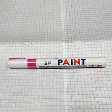 Маркер рожевий для шин gana marker Paint