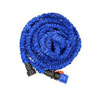 Поливочный шланг Икс-Хоз Xhose длинной 30 м.с распылителем, 1000468, компактный шланг х hose для полива, шланг x hose, икс хоз, икс хоуз, шланг для