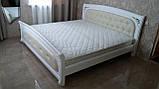 Деревянная кровать Лексус с мягким изголовьем, фото 3
