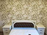 Деревянная кровать Лексус с мягким изголовьем, фото 6