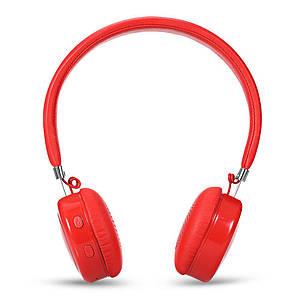 Стерео наушники блютуз Bluetooth V4.1 + EDR AEC с поддержкой Handsfree BQ668 Красные