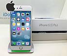 Б/У iPhone 6s Plus 32gb Silver Neverlock 10/10, фото 2